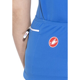 Castelli Imprevisto Bike Jersey Shortsleeve Women blue